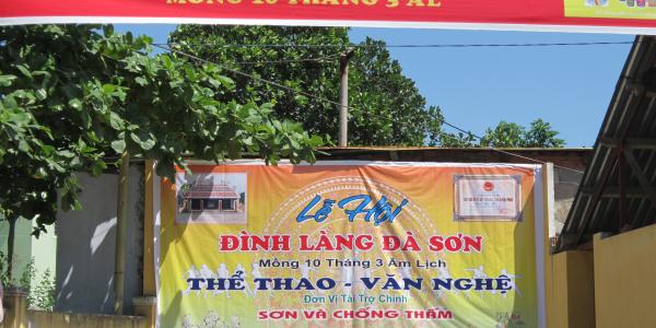 Hội đình làng Đà Sơn tháng 3-2013 ÂL