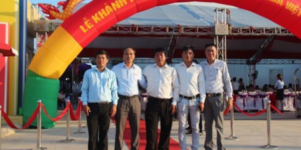 Lễ khánh thành nhà máy tại Hà Nội 09-08-2015