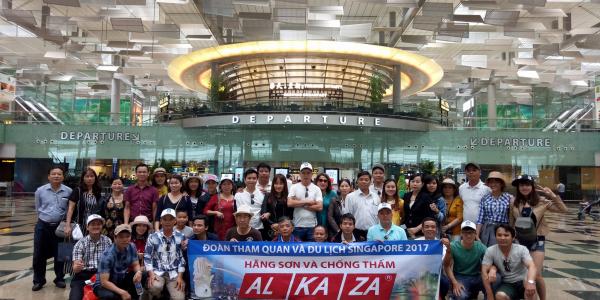 Tour du lịch Singapore - Gửi lời tri ân đến quý đại lý đối tác