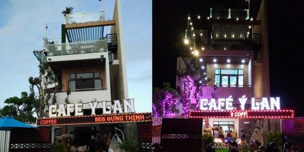 Công trình quán cafe - Ý Lan - Lê Văn Duyệt Đà Nẵng