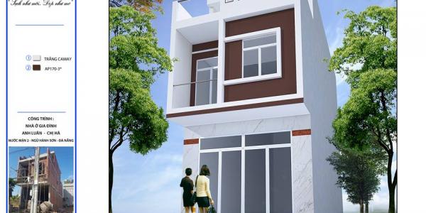 Công trình nhà ở - anh Luân - Ngũ Hành Sơn