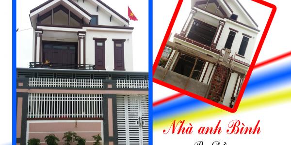 Công trình nhà ở - anh Bình chị Lan