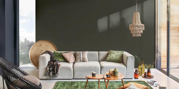 Bốn cách thay đổi diện mạo cho phòng khách của bạn