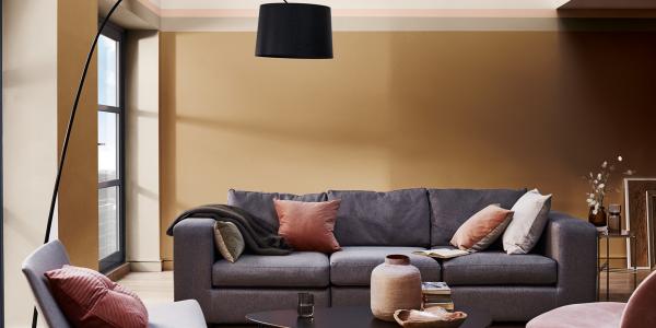 4 cách để đổi mới phòng khách của bạn với tone màu Nâu